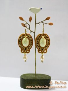 Jewelry Making Tutorials  Learn How To Make Jewelry - Beading & Wire Jewelry Classes : DIY How to make Soutache Jewelry Tutorials