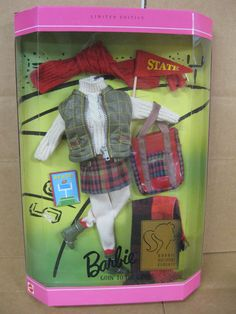 1996 Barbie Millicent Roberts Goin' to The Game Barbie Fashions | eBay
