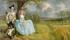 Thomas Gainsborough - Mr. und Mrs. Andrews