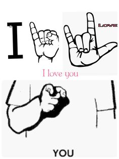 Tell your loved one that you love them💝 Baby Sign Language Chart, Sign Language Phrases, Sms Language, Sign Language Alphabet, British Sign Language, Learn Sign Language, Alphabet Symbols, Asl Signs, Libra