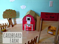 design dazzle guest post and LOTS of cardboard fun!