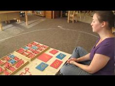 Bluffview Montessori School: Teaching Cursive Writing Using Sandpaper Letters