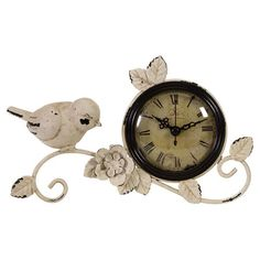I pinned this Oiseaux Table Clock from the French Countryside event at Joss and Main!
