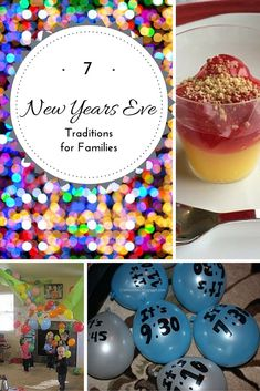 New Year's Eve Traditions for Families The Holy Mess Fun ideas to make New Year's Eve a holiday your whole family looks forward to every year. These are great for the family and not too stressful for mom. 7 New Years Eve Traditions for Families Kids New Years Eve, New Years Eve Games, New Years Eve Dinner, New Years Eve Party, New Years Eve Traditions, Holiday Traditions, Family Traditions, New Eve, Nye Party