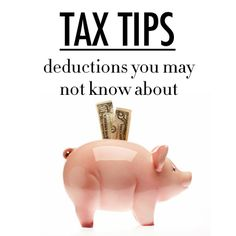 VERY USEFUL! -- 5 Tax Deductions You May Not Know About | Levo League | taxes, personal finance, money