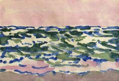 Fairfield Porter (1907 - 1975) Sea and Sky unsigned
