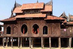 Monasterio de Shwe Yan Pyay en Myanmar