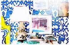 Watercolor Instagram App - Interior Design Watercolor