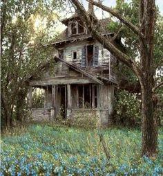 Old Farm House by Jadedgold1