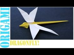 In this tutorial, I will show you how to make an origami Dragonfly. Enjoy :D!      Origami: Dragonfly!  Designed By: Kunikiko Kasahara!    Tips: Take care of your folds at the beginning, and the rest should be fairly easy if you follow the tutorial exactly. Making careful folds, and making sure everything is properly aligned will allow you to get best results for the final product. This rule is something that should probably be kept in mind when making any origami model.    Happy folding!