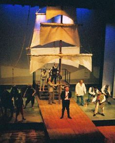 little mermaid theatrical set - Google Search