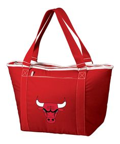 Take a look at this Red Chicago Bulls Topanga Cooler Tote today!
