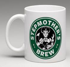 Starbucks Disney Inspired Cinderella Wicked Stepmother 11oz. Coffee Mug Tea Cup