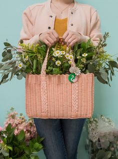 Floral Basket DIY...