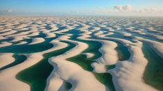 coastal dunes. brazil