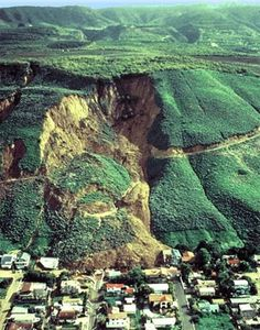 Natural causes of landslides include: groundwater (pore water) pressure acting to destabilize the slope, loss or absence of vertical vegetative structure, soil nutrients, and soil structure, erosion of the toe of a slope by rivers or ocean waves weakening of a slope through saturation by snow melt, glaciers melting, or heavy rains earthquakes adding loads to barely stable slope, earthquake-caused liquefaction destabilizing slopes, and volcanic eruptions.