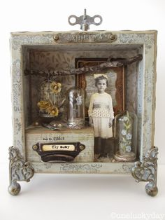 Alice meets Downton Shadowbox