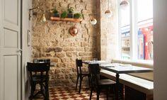 Intérieur Restaurant Rue du Nil Paris Frenchie Grégory Marchand