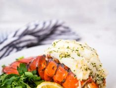 Broiled Lobster Tail {with Creamy Butter Sauce} - Spend With Pennies Good Meatloaf Recipe, Best Meatloaf, Meatloaf Recipes, Baked Lobster Tails, Broil Lobster Tail, How To Cook Lobster, Cooked Lobster, Roasted Vegetables With Chicken, Lobster Dinner