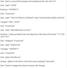 And that's how Zelo found the B.A.P