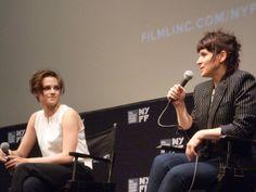 Kristen Stewart, Juliette Binoche and Olivier Assayas Talk Clouds ...