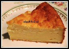 Kokos-cheesecake met ricotta - Slank4u2