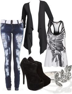 """""""Midweek Casual"""" by dori-tyson on Polyvore"""