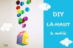 DIY : là haut – le mobile poétique | Madame Citron - Blog de créations et DIY