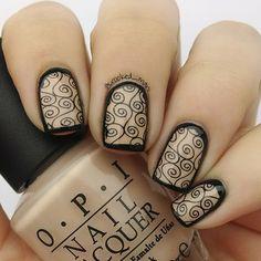 You must check out these spectacular nail designs! Crazy Nail Art, Crazy Nails, Cool Nail Art, Get Nails, Love Nails, Pretty Nails, Beauty Hacks Nails, Nail Art Hacks, Sparkly Nails