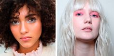 Spring/Summer 2017 hair and makeup trends