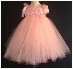 Pink tutu dress Toddler 2T 3T 4T Tutu Dress by ErinOfAliJade, $40.00