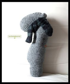 Hip Hippo is a simple design loaded with big character and style. Appealing to your eyes is this stuffed hippo in stylish scarf. This is probably