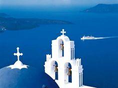 Blue heaven! Oia village, Santorini island, Greece.  Selected by www.oiamansion.com