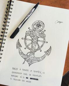 Anchor drawing