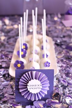 The girls at Velvet Lily Florist  styled this gorgeous birthday party for their client Tiarne, who was turning the big 21. The Purple/Lavend...