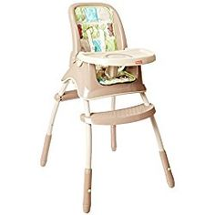 Fisher-Price Rainforest Friends Grow-With-Me High Chair Brown