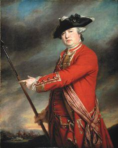 Lieutenant Colonel Francis Smith, 10th Regiment of Foot, 1764