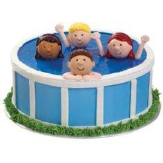 Cute !! Idée déco pour gâteau pendant l'été