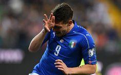 Scarica sfondi Andrea Belotti, 4K, calcio ed ex calciatore italiano, ritratto, squadra di calcio italiana, Torino, Italia