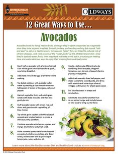 Series: 12 Great Ways To Use...Avocados! | Oldways