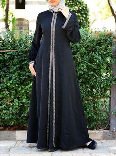 Islamic Clothing for Women: New Fall Collection Abaya Fashion, Fashion Dresses, African Dresses For Kids, Moslem Fashion, Mode Abaya, Muslim Dress, Islamic Fashion, Islamic Clothing, Classy Dress