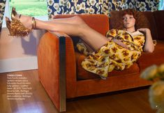 """Lily Cole """" Going To Pieces """" by Alex Prager Vogue US March 2013"""