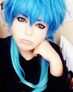 Pouty Aoba  #Aobaseragaki #cosplay  #aoba #drammaticalmurder #drammaticalmurdercosplay #anime #animeboy #cosplaymakeup #trap #crossplay #dmmd #cosplayer