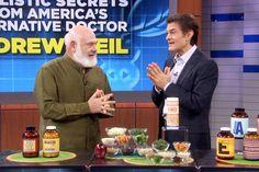 Andrew Weil's Holistic Secrets, Pt 2 Health Guru, Health And Wellness, Health Fitness, Healthy Tips, How To Stay Healthy, Dr Andrew Weil, Dr Oz Show, Anti Inflammatory Diet, Alternative Health