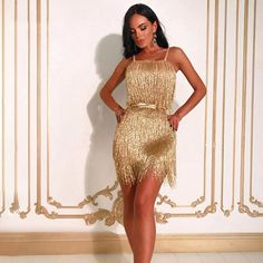 3ff3a8348 Gold Beach Dresses, Gold Dress, Fall Fashion, New Fashion, Fashion Trends,