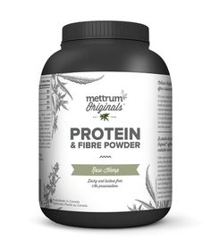 Protein & Fibre Powder | Raw Hemp with Berry | Mettrum Originals Ingredients: Hemp powder, dehydrated organically grown whole food concentrate blend (orange, cranberry, apple, cherry, blueberry, strawberry, shiitake mushroom).