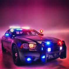Whelen's newest demo charger outfitted with with the latest and greatest Whelen lights and sirens
