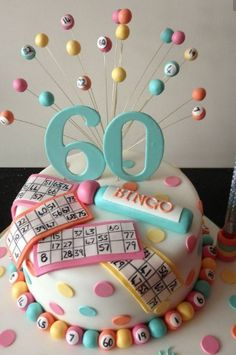 #Bingo I #Cakes - Ideas  #gambling #baking