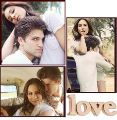 """Troian Bellisario and Keegan Allen 3"" by littlejenny09 ❤ liked on Polyvore"