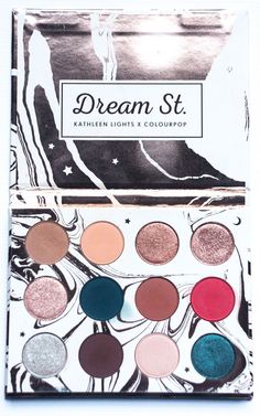 Kathleen Lights Colourpop eyeshadow palette review